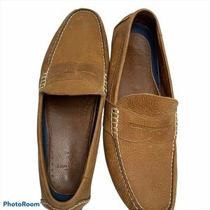 Polo Ralph Lauren Loafers Leather Slip On Mens 11